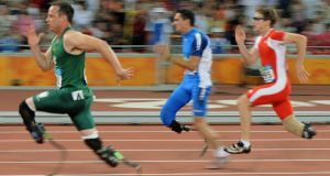 Oscar Pistorious will not compete this years, according to his agent.