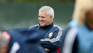 Warren Gatland: happy with the way preparations are going.