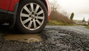 Local communities will be asked to consider contributing to the cost of road repairs. Photograph: Cyril Byrne