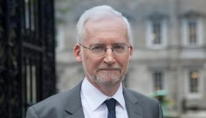 Dr Anthony McCarthy, Consultant Perinatal Psychiatrist at Leinster House yesterday.
