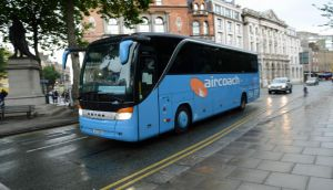 FirstGroup owns Aircoach. Photograph: Frank Miller