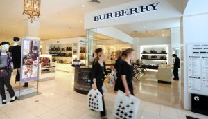 Burberry, the UK's largest luxury-goods maker, reported full-year profit that beat analysts' estimates.