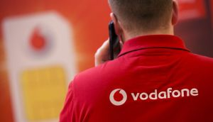 Vodafone has reported a smaller-than-projected decline in fourth-quarter wireless service revenue. Photo: Bloomberg