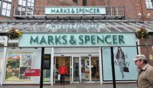 Full-year profits at Marks & Spencer fell to £665 million, their lowest level in four years. Photo: PA Wire