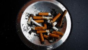Smoking in the home can generate pollution six times higher than the World Health Organisation's outdoor recommendations. Photograph: Susana Vera/Reuters