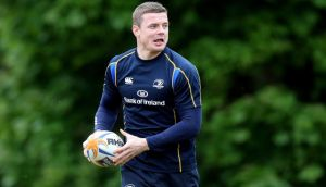 Brian O'Driscoll training with Leinster. Ryan Byrne/Inpho