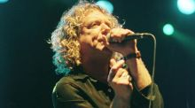 Robert Plant at the Heineken Green Energy Festival in Cork in 2000. Photograph: Dara Mac Donaill