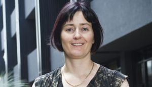 Michelle McIntosh, lead researcher of Monash Institute of Pharmaceutical Sciences, says her group plans to start testing a dry-powdered form of oxytocin by early 2014. Source: Monash University via Bloomberg