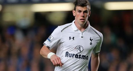 Tottenham's Gareth Bale.  Photograph: Nick Potts/PA Wire.