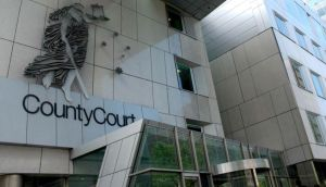 Victoria County Court in Melbourne