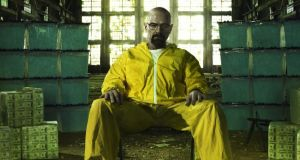 No more heroes: Bryan Cranston as Walter White in Breaking Bad. Photograph: AMC