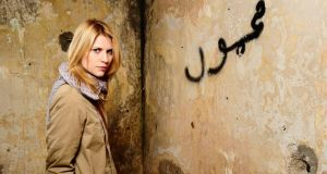 No more heroes: Claire Danes as Carrie Mathison in Homeland. Photograph: Showtime
