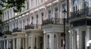 Affordable accommodation in pricey Kensington (above) and Knightsbridge