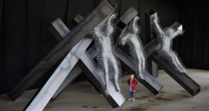 Public art: David Mach's Golgotha, on show at Galway Arts Festival last year