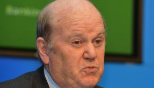 Minister for Finance Michael Noonan: banks must cut their cloth according to their measure, but he will  not dictate the specific terms of how they do it. Photograph: David Sleator
