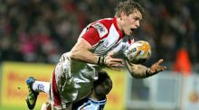 "Andrew Trimble sees this weekend as a major point in Ulster's evolution. ""It's a chance to lay claim to being the best side in Ireland."" Photograph: Morgan Treacy/Inpho"