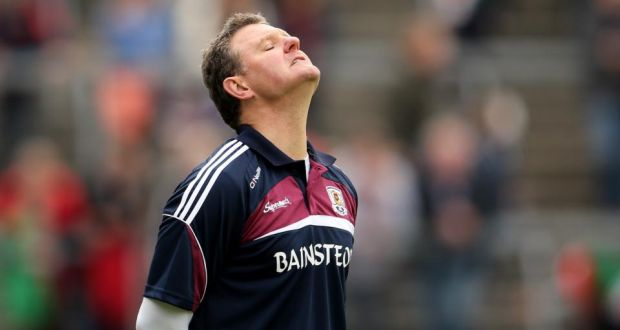 Galway football manager Alan Mulholland: One of the problems of an early championship exit is the length of time that stretches out before the qualifiers start. Photograph: Inpho