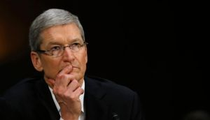 Apple chief executive Tim Cook: told of his company's relationship with Irish governments. Photograph:   Jason Reed/Reuters