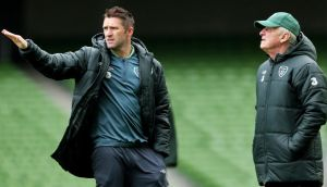 Robbie Keane: will not be available to Giovanni Trapattoni for England and Georgia games. Photograph: Inpho.