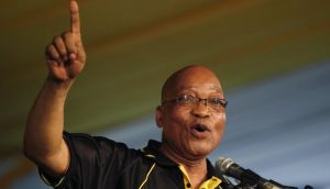 South Africa's president Jacob Zuma. His  government's 25 per cent stake in INMSA would significantly increase its overall stake in South Africa's media and is likely to raise concerns regarding excessive state influence in the sector. Photograph: Reuters