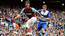 Andy Carroll in action for West Ham United: the club are prepared to pay a club-record transfer fee to sign the striker.