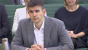 Google's Northern Europe boss, Matt Brittin, testifies to the British parliamentary Public Accounts Committee (PAC) about their taxation practices in London, in a still image taken from video May 16, 2013.