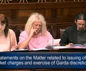 Miriam Lord Minister gets through the gap and clear