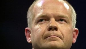"British foreign secretary William Hague has warned of a ""regional catastrophe"" if the conflict is not brought to an end and he has continued to call for an amendment of the EU arms embargo. Photograph: Dan Chung/Reuters"