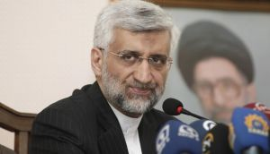Iran's chief negotiator Saeed Jalili. Mr Jalili is one of eight approved candidates in the upcoming election. Photograph: Osman Orsal/Reuters