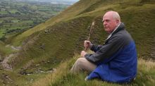 Michael McDowell on Ben Bulben in Co Sligo, where his uncle Brian was shot dead by Free State soldiers in 1922.