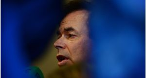 File image of  Minister for Justice Alan Shatter. Photograph: Bryan O'Brien / THE IRISH TIMES