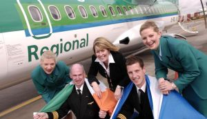 Aer Arann, which operates the Aer Lingus Regional flights, is planning to create 50 new jobs and invest €144 million in eight new aircraft.