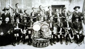 Michael O'Driscoll with the St Michael's and John's Scout troupes, photographed in 1930.  Michael O'Driscoll with the St Michael's and John's Scout troupes, photographed in 1930.