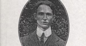 Conor O'Brien joined the 7th Leinsters 16th Irish Division of the British army in 1915 and served 30 years.