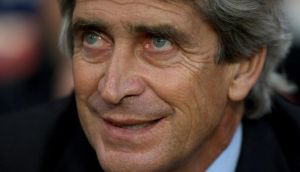 Manuel Pellegrini today confirmed he and his coaching staff are to leave Malaga. Photograph: Nick Potts/PA Wire