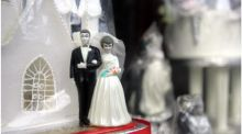 The unidentified couple's wedding reception will be able to proceed at Ballykisteen Hotel and Golf Resort, following the appointment of a provisional liquidator to the hotel. Photograph: Bryan O'Brien/The Irish Times