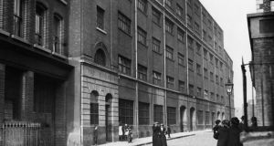 Jacob's Biscuit factory in Dublin at the time of the Easter Rising. Photograph: Topical Press Agency/Getty Images