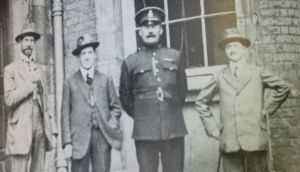 Constable James O'Brien (centre), from Kilfergus, Co Limerick, was an unarmed policeman on duty at the Cork Hill entrance to Dublin Castle when he was shot dead.