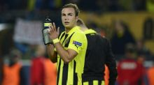 Mario Götze: 'I am unbelievably sorry that I will not be able to help the team in this important match.' - Photograph: Getty Images