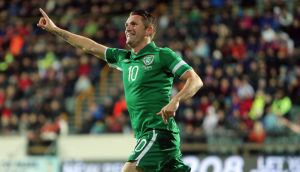 Robbie Keane will be available to face England at Wembley.  Photograph: Donall Farmer/Inpho