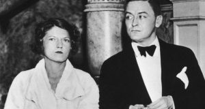 The beautiful and the damned: F Scott FitzGerald with his wife, Zelda, around 1935. Photograph: Pictorial Parade/Archive Photos/Getty
