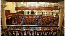 "The Dáil chamber. ""A reformed Dáil both can and should perform all of the roles of the Seanad more effectively and more cheaply."" Photograph: Alan Betson"