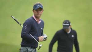 Luke Donald of England during  practice  for the BMW PGA Championship at Wentworth yesterday. Photograph: Ian Walton/Getty Images