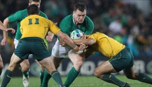 Cian Healy: takes positives out of weekend's Pro 12 final.