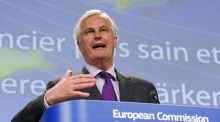 European commissioner in charge of business and financial regulation Michel Barnier. Photograph: Laurent Dubrule/Reuters.