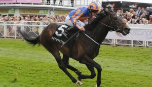 Magician, seen here winning at Chester, is the ante-post favourite for the 2000 Guineas at the Curragh.  Photograph: Anna Gowthorpe/PA Wire