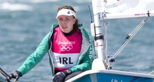 Annalise Murphy: qualified for the gold fleet on Wednesday in style at Delta Lloyd Regatta. Photograph: Inpho
