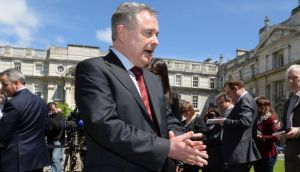 Minister for Expenditure and Reform Brendan Howlin said accepting the Haddington Road deal was the only way to guarantee workers would not be forced from their jobs. Photograph: Cyril Byrne/The Irish Times