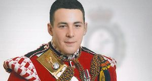 Drummer Lee Rigby (25) from the 2nd Battalion, Royal Regiment of Fusiliers who was named today as the soldier hacked to death in Woolwich yesterday. Photograph: police handout/PA Wire