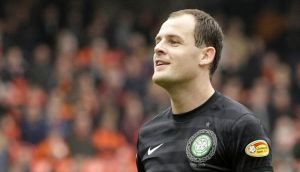 Celtic's Anthony Stokes says the critics have short memories. Photograph: Danny Lawson/PA Wire.